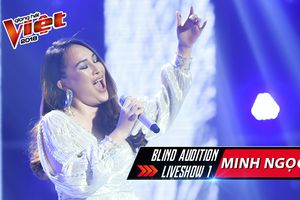 Minh Ngọc: Hành trình trong mơ của cô gái khiến bộ tứ 'điêu đứng' tại The Voice 2018