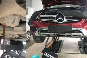 Thợ Việt bắt bệnh Mercedes GLC, khắc phục chỉ vài trăm ngàn đồng