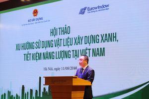 Eurowindow kết nối ba 'nhà' phát triển công trình xanh tại Việt Nam