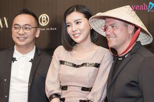 Cao Thái Hà, Đồng Ánh Quỳnh và dàn sao Việt thích thú khi được trò chuyện với Michael Owen