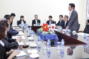Đoàn cán bộ cấp cao Nhật Bản thăm Trung tâm Đào tạo Hải Phong