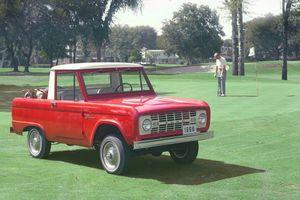 Mẫu xe SUV nào đã quảng cáo đầu tiên trên truyền hình?