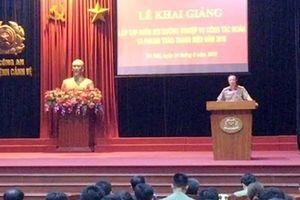 Đẩy mạnh công tác đoàn và phong trào thanh niên Bộ Tư lệnh Cảnh vệ