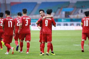 Thắng Pakistan 3-0, Olympic Việt Nam khởi đầu thuận lợi tại ASIAD 18