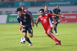 Thắng tối thiểu Nepal, Olympic Nhật Bản tạm xếp sau Olympic Việt Nam