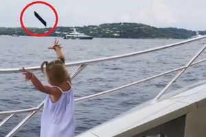 'Đứng hình': Cô bé giật lấy điện thoại ném phăng xuống biển chỉ vì bố mải mê nói chuyện