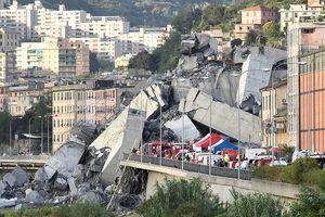 Số người chết trong thảm kịch sập cầu ở Italia tăng cao, nguy cơ được cảnh báo từ năm 2016