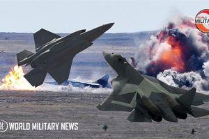 Tiêm kích F-35 không thể sánh bằng Su-57