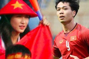 Lặng lẽ ra sân ủng hộ U23 Việt Nam, Hòa Minzy vẫn hút mọi chú ý vì quá xinh