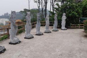 Tượng 12 con giáp 'phản cảm' ở Đồ Sơn vẫn nằm trong khu du lịch