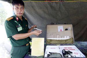 Hòm thuốc phòng chống lụt bão đa năng của Bộ đội Hóa học