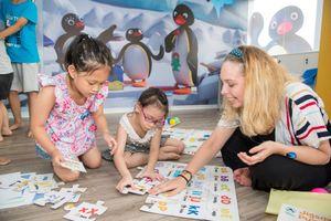 Ra mắt Trung tâm tiếng Anh dành cho trẻ em tại Hà Nội