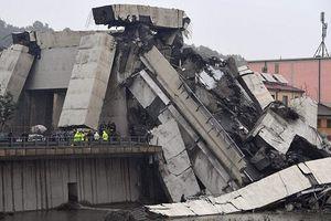'Địa ngục trần gian' sau thảm kịch sập cầu cao 100m tại Italy: Ít nhất 35 người thiệt mạng