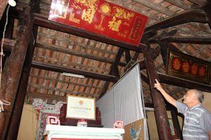 Đình làng kỳ sự: Linh thiêng ngôi đình thờ chữ 'Tổ quốc'