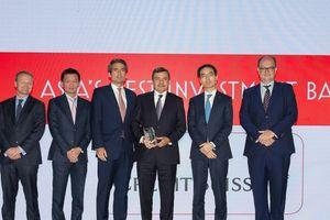 Credit Suisse được Euromoney và FinanceAsia vinh danh Ngân hàng đầu tư tốt nhất Việt Nam
