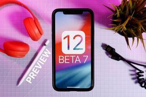 iOS 12 Developer Beta 7 bị dừng phát hành vì lỗi nặng