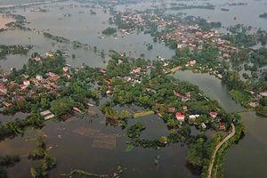 Huyện Chương Mỹ có thể tái diễn ngập lụt do ảnh hưởng bão Bebinca