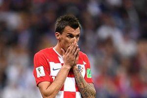 Tiền đạo Mandzukic bất ngờ tuyên bố giã từ sự nghiệp quốc tế