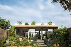 Ngôi nhà lấy cảm hứng từ thiên nhiên ở vùng ngoại ô Hà Nội nổi bật trên báo Tây