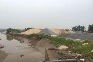 TX Quảng Yên - Quảng Ninh: Lộn xộn bến bãi tập kết cát, đá ven sông