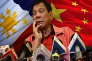 Tổng thống Philippines chỉ trích hành động 'ngang ngược' của Trung Quốc trên Biển Đông
