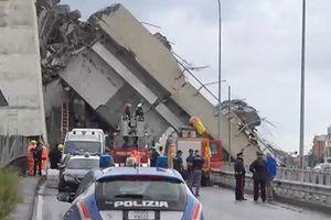Cây cầu vừa sập tại Italy có kết cấu 'bất thường'