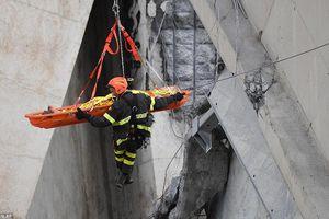 Hình ảnh mới nhất về các nạn nhân trong vụ sập cầu tại Italy