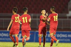 VCK U15 QG 2018: Khánh Hòa và Viettel vào bán kết