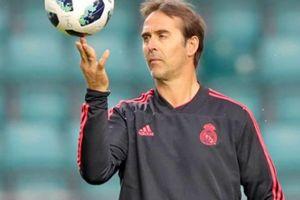 HLV Lopetegui lập cột mốc đáng hổ thẹn cùng Real Madrid