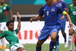 Bị đội 'lót đường' cầm hòa, ĐT Olympic Thái Lan bị loại?