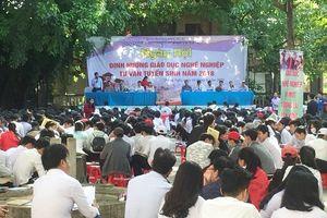 Ngày hội định hướng giáo dục nghề nghiệp 2018 của tỉnh Quảng Ngãi: Nhiều ngành học mới được giới thiệu