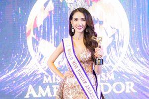 Hoa hậu Đại sứ Du lịch Thế giới Phan Thị Mơ: Thi hoa hậu để tỏa sáng, không phải để tìm kiếm đại gia