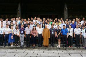 Đoàn đại biểu thanh niên Trung Quốc thăm danh thắng Tràng An