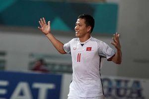ASIAD 2018: Anh Đức sánh ngang kỷ lục ghi 3 bàn của Phan Thanh Bình