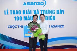 Tập đoàn điện tử Asanzo trao giải cuộc thi thiết kế logo