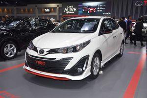 Toyota Vios 'lột xác' hoàn toàn ở bản thể thao TRD