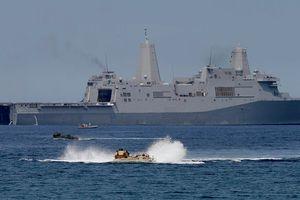 Trung Quốc ngang ngược tuyên bố 'có quyền' ngăn tàu bè, máy bay ở Biển Đông