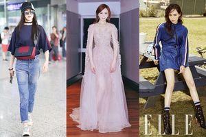 Không chỉ có sắc vóc tươi trẻ, Đường Yên còn là mỹ nhân Hoa ngữ sở hữu gu thời trang sành điệu đáng nể