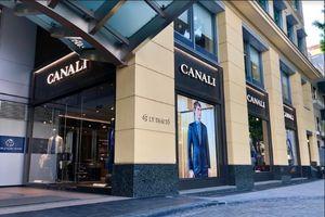 Thương hiệu thời trang Canali khai trương cửa hàng đầu tiên tại Hà Nội