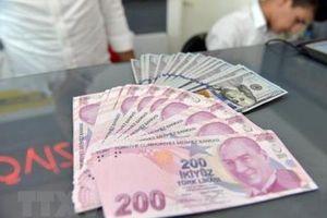 Khủng hoảng tiền tệ ở Thổ Nhĩ Kỳ tác động bất lợi tới kinh tế châu Âu