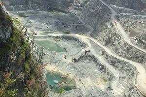 Bình Dương: Thông tin vụ việc khai thác đá tại cụm mỏ đá Tân Đông Hiệp