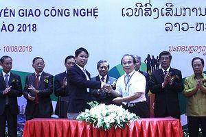 Việt Nam - Lào: Nở rộ các dự án chuyển giao công nghệ