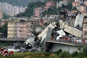 Sập cầu tại Italy: Phạt tài chính đối với công ty vận hành cầu Morandi