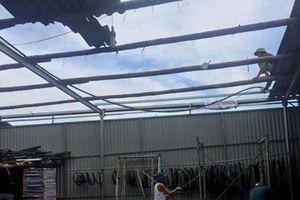 Thái Nguyên: Hơn 50 nhà dân bị tốc mái do mưa dông lớn