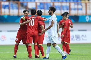 Olympic Việt Nam – Olympic Nepal: Tấm vé đi tiếp giành cho thầy trò Park Hang Seo