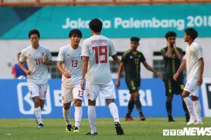 Nhật Bản 10 phút ghi 3 bàn, thách thức Olympic Việt Nam
