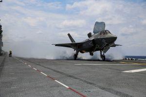 Hải quân Hàn Quốc muốn triển khai máy bay tàng hình F-35B trên tàu đổ bộ