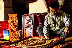 Độc đáo làng nghề sơn mài Bối Khê