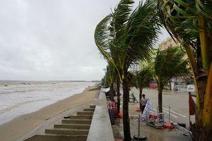 Tình hình thiệt hại, lượng mưa, mực nước các hồ chứa sau khi bão số 4 đổ bộ