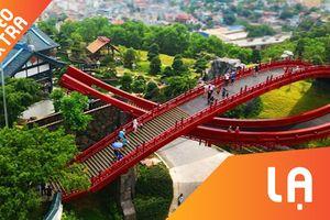 Sau cầu Vàng Đà Nẵng, dân du lịch đến check in ở cầu cá Koi, Hạ Long